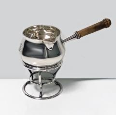 Garrard Co Garrard Silver Brandy Saucepan and Stand London 1916 - 1087852