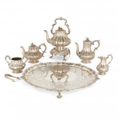 Garrard Co Six piece English silver tea and coffee service - 1543197