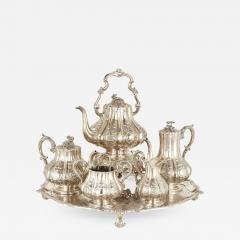 Garrard Co Six piece English silver tea and coffee service - 1545241