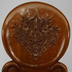 Gaudi 3 Pair of Art Nouveau 19 20 Cent Teak Armchairs - 422168