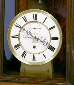 Gebhard Bosch L beck c 1877 German Carved Walnut Long Running Conical Wall Regulator Clock - 1276614