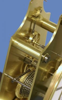 Gebhard Bosch L beck c 1877 German Carved Walnut Long Running Conical Wall Regulator Clock - 1276618