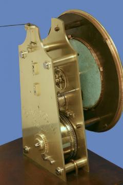Gebhard Bosch L beck c 1877 German Carved Walnut Long Running Conical Wall Regulator Clock - 1276621