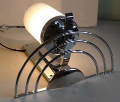 General Electric Four English Streamline Moderne Art Deco Sconces - 123474