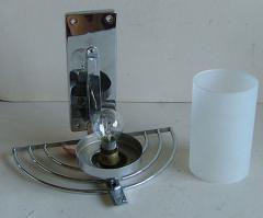 General Electric Four English Streamline Moderne Art Deco Sconces - 123476