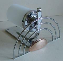 General Electric Four English Streamline Moderne Art Deco Sconces - 123477