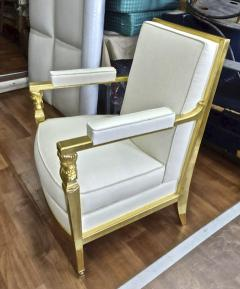 Genes Babut Genes Babut and Poillerat superb pair of French Neo classic chairs - 1409066