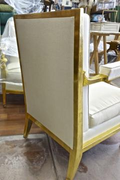 Genes Babut Genes Babut and Poillerat superb pair of French Neo classic chairs - 1409348