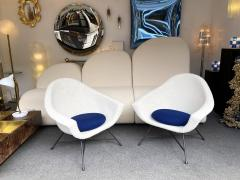 Genevieve Dangles Christian Defrance Pair of Armchairs 58 by Dangles Defrance for Burov France 1950s - 2128328