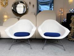 Genevieve Dangles Christian Defrance Pair of Armchairs 58 by Dangles Defrance for Burov France 1950s - 2128329