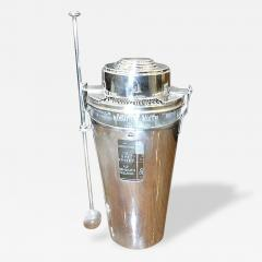 Ghis Art Deco Cocktail Shaker The Barman - 126361