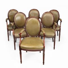 Gill Reigate Six Edwardian mahogany chairs by Gill Reigate - 1632263