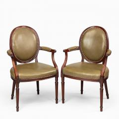 Gill Reigate Six Edwardian mahogany chairs by Gill Reigate - 1632265