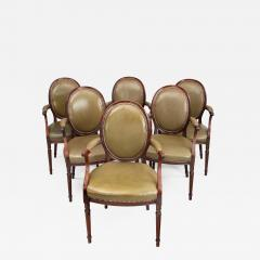 Gill Reigate Six Edwardian mahogany chairs by Gill Reigate - 1636414