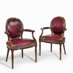 Gill Reigate Two Edwardian mahogany chairs by Gill Reigate - 2052967
