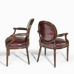 Gill Reigate Two Edwardian mahogany chairs by Gill Reigate - 2052972