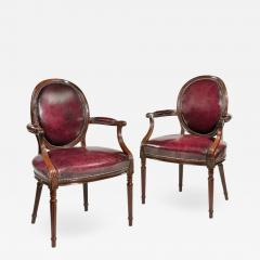 Gill Reigate Two Edwardian mahogany chairs by Gill Reigate - 2053714