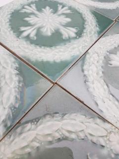 Gilliot 1 of the 30 Glazed Ceramic Art Deco Tiles by Gilliot circa 1930s - 1298874