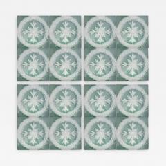 Gilliot 1 of the 30 Glazed Ceramic Art Deco Tiles by Gilliot circa 1930s - 1307439