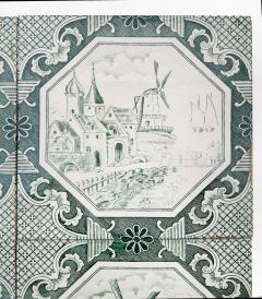 Gilliot Set of 4 of Ceramic Tiles by Gilliot Total 200 Tiles 1930 - 1298180