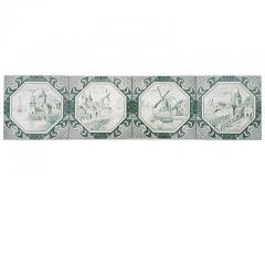Gilliot Set of 4 of Ceramic Tiles by Gilliot Total 200 Tiles 1930 - 1298182