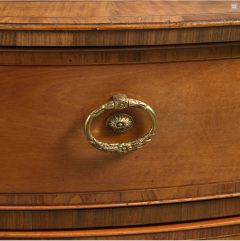 Gillows of Lancaster London A George III Satinwood Commode of Unusual Oval Form Attributed To Gillows - 502963