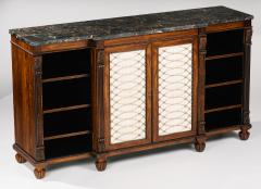 Gillows of Lancaster London A Regency Rosewood Breakfront Side Cabinet - 873517