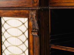 Gillows of Lancaster London A Regency Rosewood Breakfront Side Cabinet - 873522