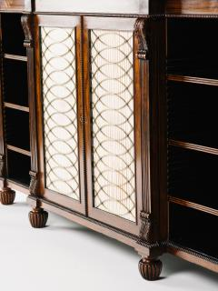 Gillows of Lancaster London A Regency Rosewood Breakfront Side Cabinet - 873523