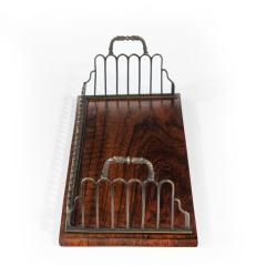 Gillows of Lancaster London A Regency gilt brass and rosewood book tray attributed to Gillows - 1672916