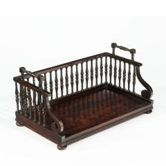 Gillows of Lancaster London A Regency rosewood book tray attributed to Gillows - 1672225