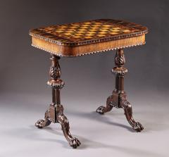 Gillows of Lancaster London An Outstanding English Regency Period Games Table By Gillows - 296721