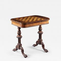 Gillows of Lancaster London An Outstanding English Regency Period Games Table By Gillows - 297190