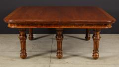 Gillows of Lancaster London Banded Walnut Dining Table by Gillows - 1700210