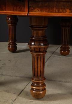 Gillows of Lancaster London Banded Walnut Dining Table by Gillows - 1700217