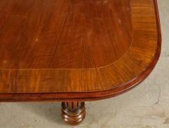 Gillows of Lancaster London Banded Walnut Dining Table by Gillows - 1700223