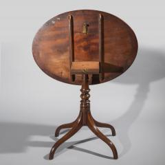 Gillows of Lancaster London English George III Regency Oval Lamp Table in Faded Mahogany - 1071205
