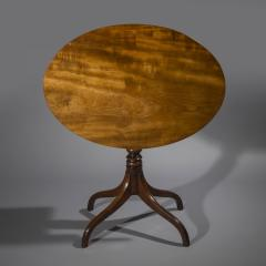 Gillows of Lancaster London English George III Regency Oval Lamp Table in Faded Mahogany - 1071211