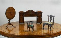Gillows of Lancaster London English Miniature Furniture Regency Period Mahogany Sideboard of Museum Standard - 1230682