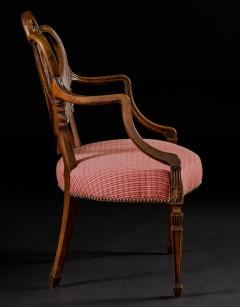 Gillows of Lancaster London George III Mahogany Armchair - 292019