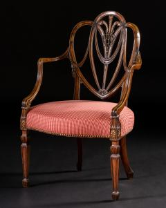 Gillows of Lancaster London George III Mahogany Armchair - 292021