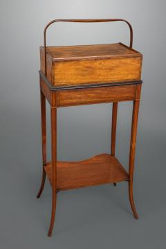 Gillows of Lancaster London George III Sheraton Period Satinwood Cheveret Probably by Gillows - 930156