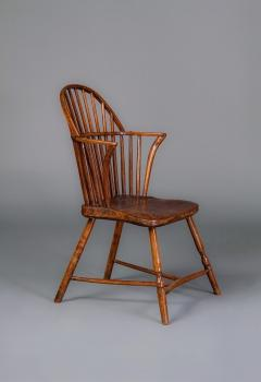 Gillows of Lancaster London Gillows A Late 18th Century Ash Windsor Chair Possibly for the American Market - 805252