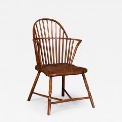Gillows of Lancaster London Gillows A Late 18th Century Ash Windsor Chair Possibly for the American Market - 807276