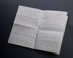 Gillows of Lancaster London Gillows Furniture and Furnishings Invoice dated 1874 - 805217