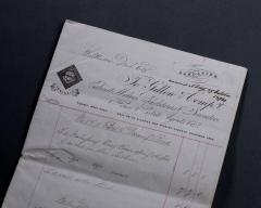 Gillows of Lancaster London Gillows Furniture and Furnishings Invoice dated 1874 - 805218