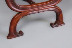 Gillows of Lancaster London Gillows Interest A Good George IV Rosewood X Frame Stool - 805398