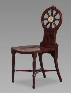Gillows of Lancaster London Gillows Magnificent and Rare Set of Mahogany Hall Chairs c 1790 - 826139