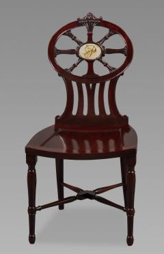 Gillows of Lancaster London Gillows Magnificent and Rare Set of Mahogany Hall Chairs c 1790 - 826140