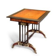 Gillows of Lancaster London Gillows Rosewood Library Table - 754497